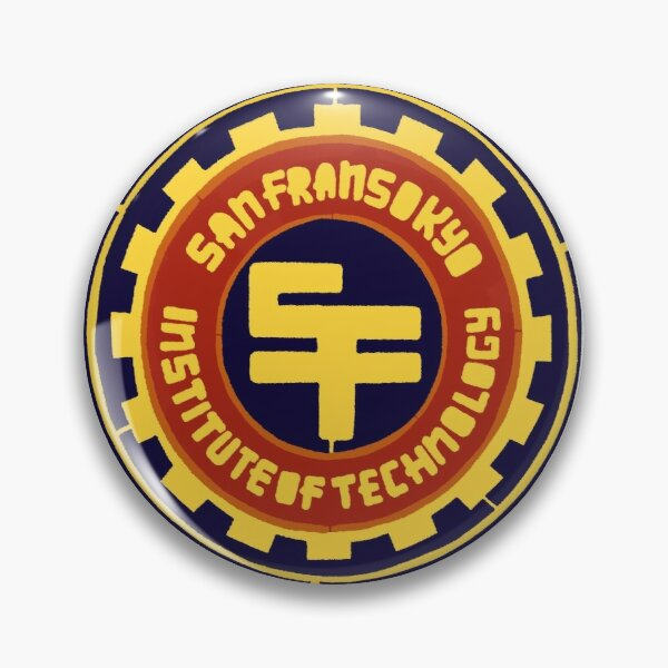 San Fransokyo Institute of Technology (colour) Pin