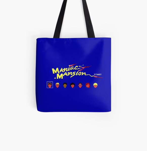 Maniac Mansion All Over Print Tote Bag