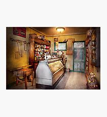 Americana - Store - At the local grocers Photographic Print