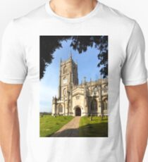 Steeple Ashton Church, Wiltshire, UK Unisex T-Shirt