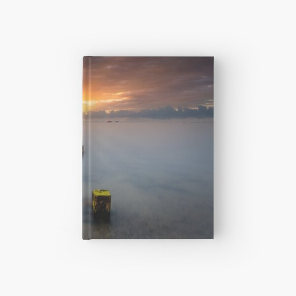 Stormy Seaview Sunbeams Sunrise Hardcover Journal