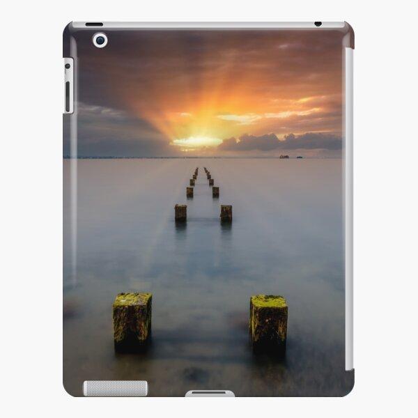 Stormy Seaview Sunbeams Sunrise iPad Snap Case