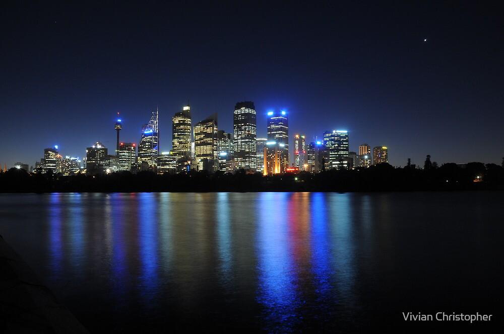 Sydney Skyline 1 by Vivian Christopher