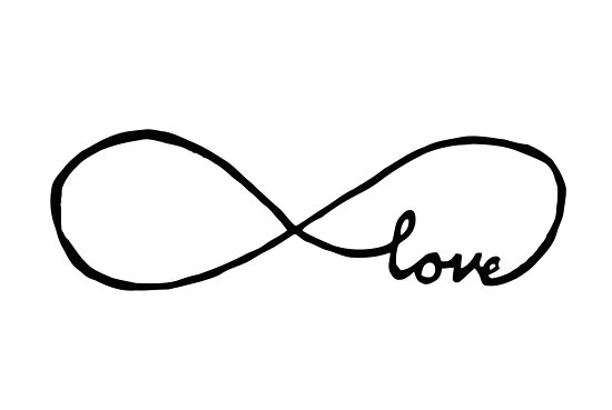 infinity sign. pretty infinity sign love by nevergiveup