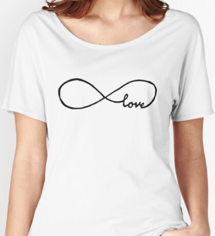 Pretty Infinity sign love Relaxed Fit T-Shirt