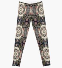 Fractal Typography Leggings