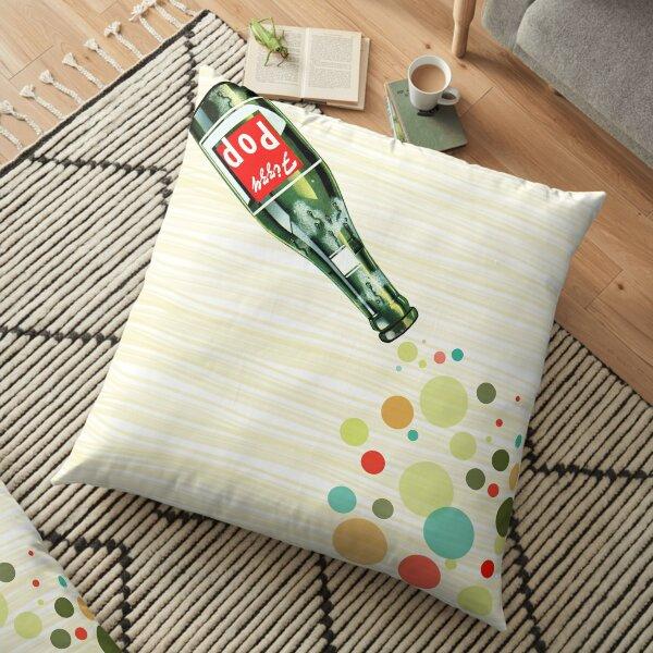 Fizzy Pop Art Floor Pillow