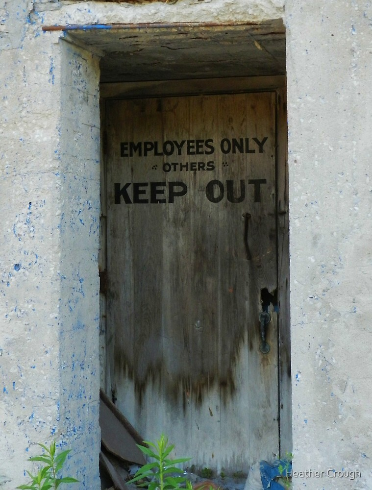 Employees Only by Heather Crough