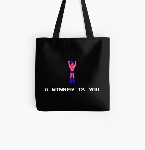 A Winner Is You All Over Print Tote Bag