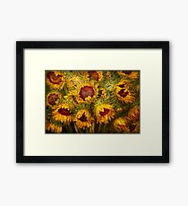 Flowers - Sunflowers - You're my only sunshine Framed Print