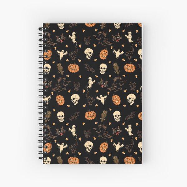 Hallowed Pattern Spiral Notebook