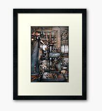 Machinist - My really cool job Framed Print