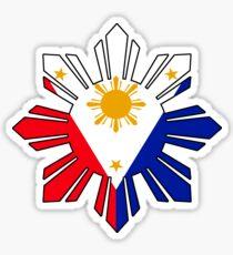 Philippine Sun Flag Sticker