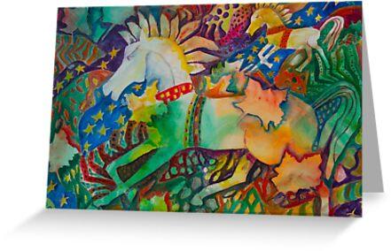Horseplay by olga zamora