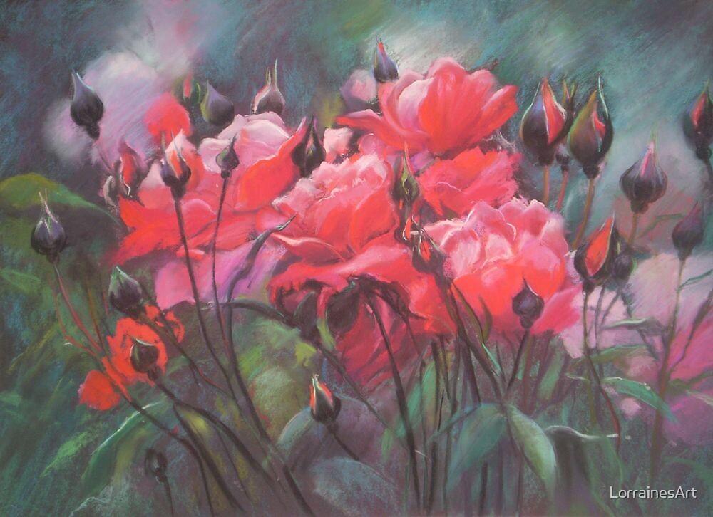 Beautiful Garden by LorrainesArt