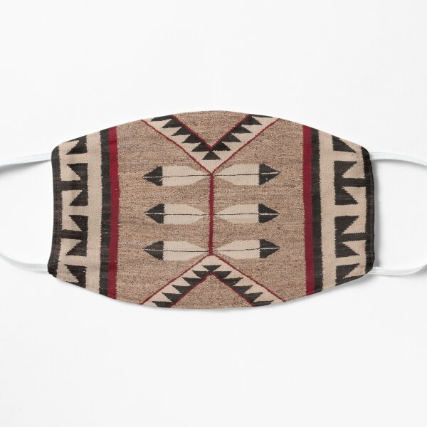 NAVAJO 1925 ART WITH FEATHERS SCAN HIGH RES - ORIGINAL WORTH OVER $20,000 Mask