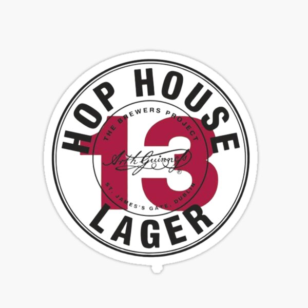 HOP HOUSE LAGER GUINNESS by ABEL2017 Sticker