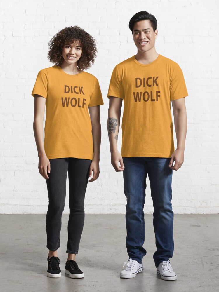 Solar Opposites Terry T-Shirt DICK WOLF Mens Funny T Shirts