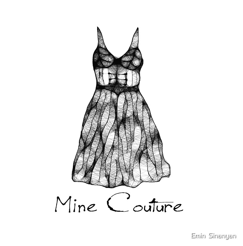 Logo Design for Mine Couture by Emin  Sinanyan