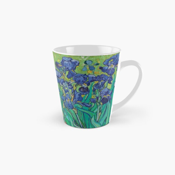 Irises by Vincent Van Gogh Tall Mug
