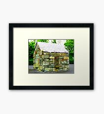 The Stone House Framed Print