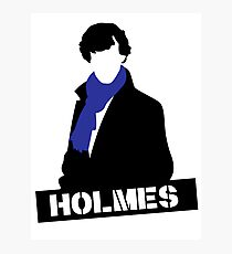Sherlock Benedict Cumberbatch Holmes  Photographic Print