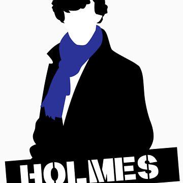 Sherlock Benedict Cumberbatch Holmes  by lyndzep