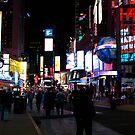 NYC Timesquare by Briana McNair