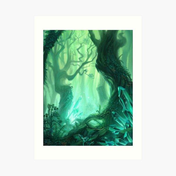 Forêt Impression artistique