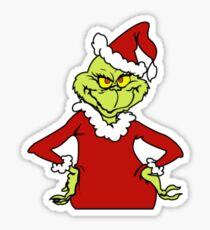 The Grinch Sticker