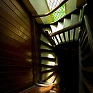 Old church stairs in Adelaide by Jenny Setchell