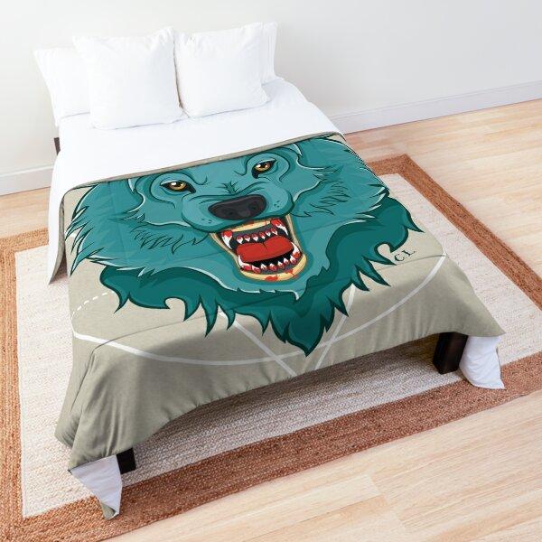 Killer Wolf Comforter