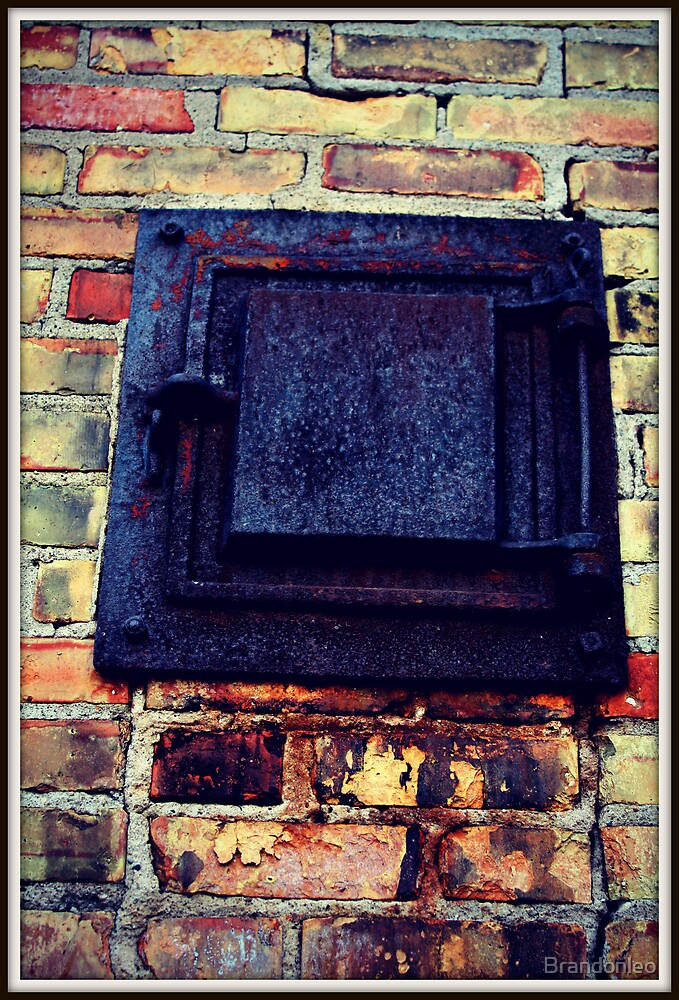 Small Rusty Door by Brandonleo