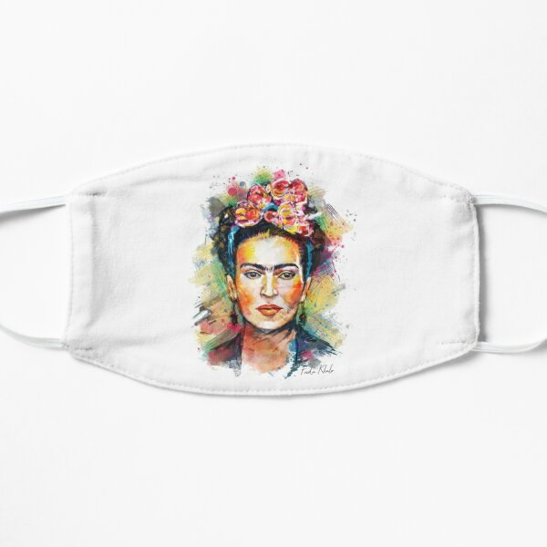 Frida Khalo Mexico Revolution Portrait Masque sans plis