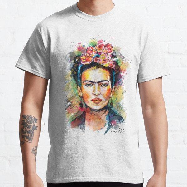 Frida Khalo Mexico Revolution Portrait T-shirt classique