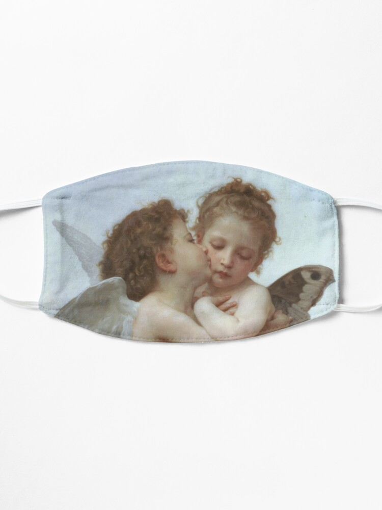 Alternate view of Lamour and Psyche Children – (William Adolphe Bouguereau) Mask