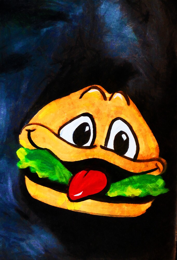 Time for a Happy Burger! by PictureNZ
