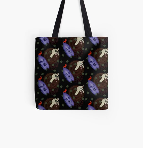 Viking pattern  All Over Print Tote Bag