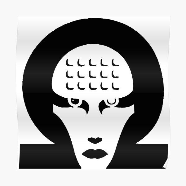 Marilyn Manson Omega Poster