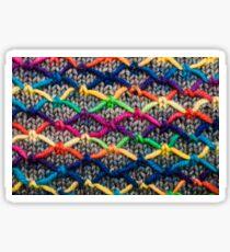 Knitting Aesthetic   Sticker