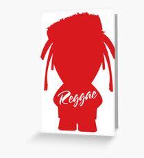 Reggae 0.3 Greeting Card