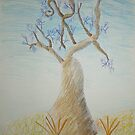 Aussie Boab (by my 9 year old) by Dianne  Ilka