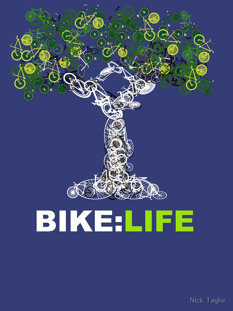 BIKE:LIFE in white | Unisex T-Shirt