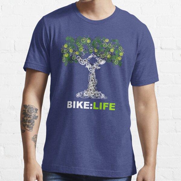 BIKE:LIFE in white Essential T-Shirt
