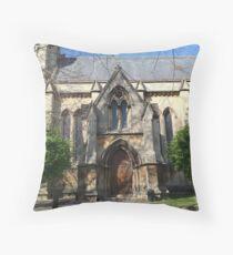 St. Johns Church Throw Pillow