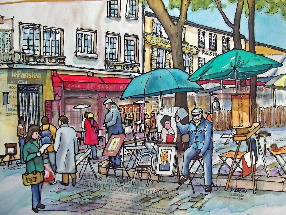 Montmartre Le Parisien by Patricia Sabin