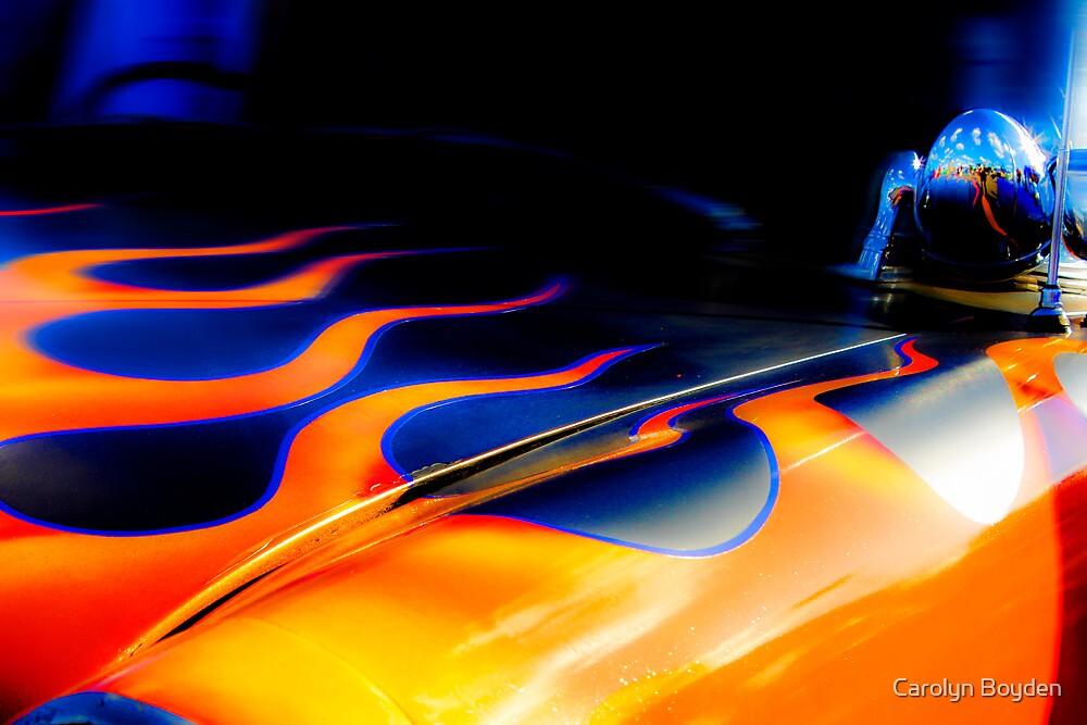 Flaming Bonnet by Carolyn Boyden
