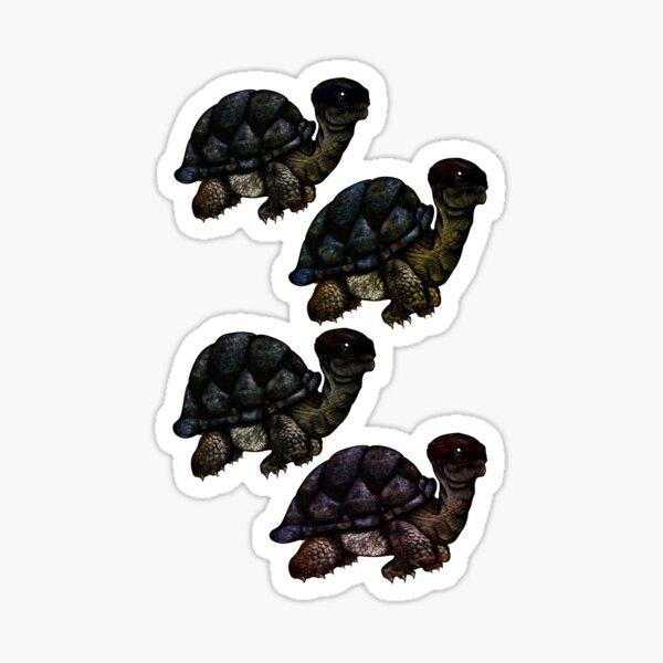 Teenage mutant ninja tortoises Sticker