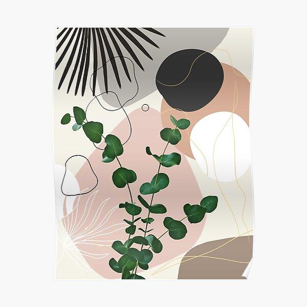 Eucalyptus Fan Palm Finesse #1 #tropical #decor #art Poster