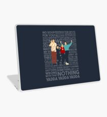 A Shirt About Nothing Laptop Skin